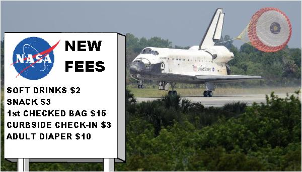 Space Shuttle Lands in Florida