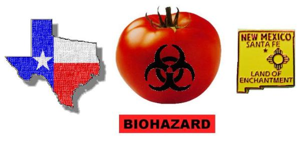 Tainted Tomatoes in Texas and Taos